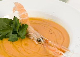 Supa crema de creveti