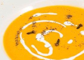Supa crema picanta de dovleac